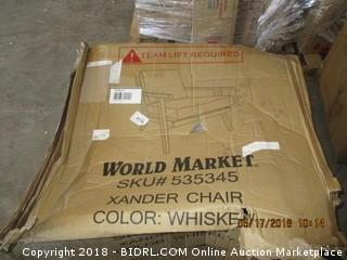 World Market Chair - Damaged