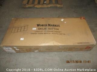World Market Storage Cabinet