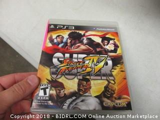PS3 Super Street Fighter Game IV