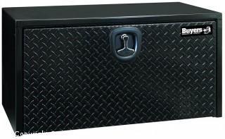 Buyers Products Black Steel Underbody Truck Box w/Aluminum Door (18X18X30 Inch) (Retail $261.00)