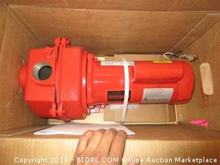 Red Lion RLSP-200 Self-Priming High Capacity Sprinkler Pump, Cast Iron Pump, 2-HP 80-GPM (Retail $273.00)