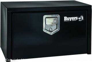 Buyers Products Black Steel Underbody Truck Box w/ Paddle Latch (18x18x24 Inch) (Retail $190.00)