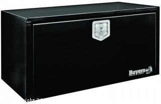Buyers Products Black Steel Underbody Truck Box w/ T-Handle Latch (18x18x30 Inch) (Retail $223.00)