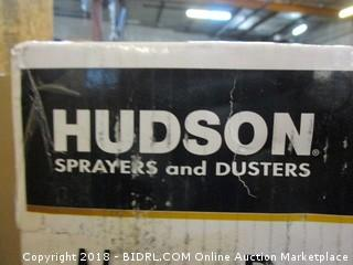 Hudson Sprayer and Duster Never Pump  Battery Operated