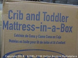 Crib and Toddler Mattress in a box