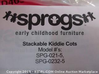 Stackable Kiddie Cots