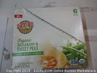 Earths Best Organic Baby food Puree