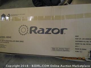 Razor Boys High Roller BMX Bike