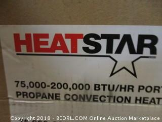 Heat Star BTU/HR Portable Propane Convection Heater