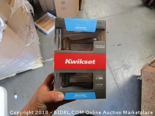 Kwikset Bed and Bath Doorknob