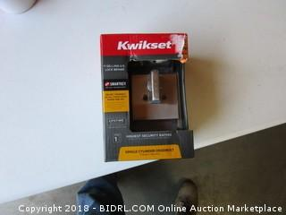 Kwikset Single Cylinder Deadbolt