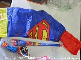 Superman Umbrella Raincoat