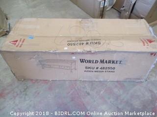 World Market Aiden Media Stand