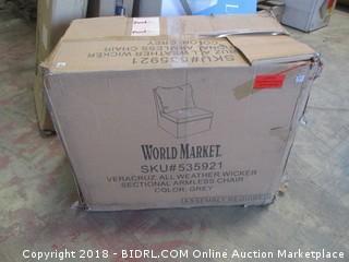 World Market Outdoor Chair