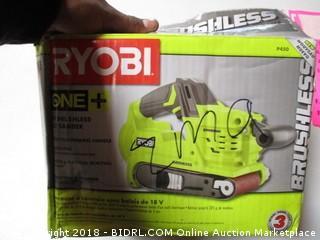 Ryobi Brushless Belt Sander