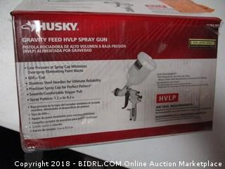Husky  Gravity Feed HVLP Spray Gun