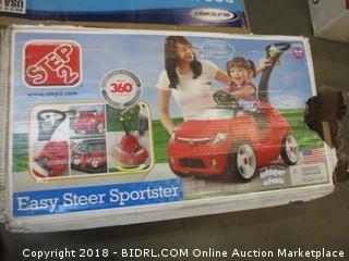 Step2 Easy Steer Sportster, Red/Black/White (Retail $76.00)