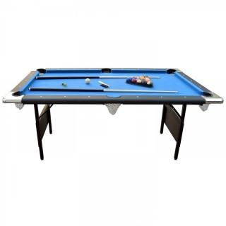 Hathaway Fairmont Portable 6-Ft Pool Table for Families with Easy Folding for Storage (Retail $399.00) - Accessories Not Included