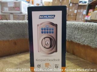 Schlage Keypad Deadbolt - No Key