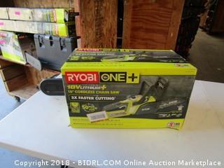 Ryobi One + Cordless Chain Saw