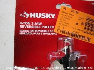 Husky 4-Ton 2-Jaw Reversible Puller