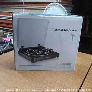 Audio-Technica Fully Automatic Belt Drive Stereo Turntable