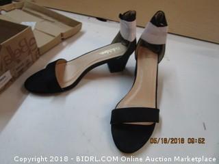 Black Suede Shoes Size  10
