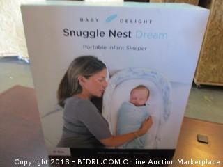 Snuggle Nest Portable Infant Sleeper