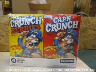 Captain Crunch 4 Boxes