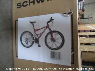 Schwinn Protocol 1.0 Men's Dual-Suspension Mountain Bike (26-Inch Wheels, Red) (Retail $319.00)
