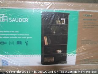 Sauder Select Library, Estate Black Finish (Retail $166.00)
