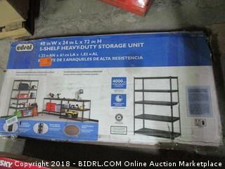 5 Unit Shelf - Missing Parts