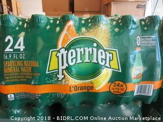 Perrier Sparkling Mineral Water - 24 pack