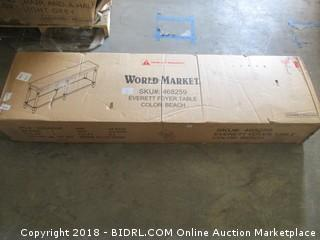 World Market Foyer Table