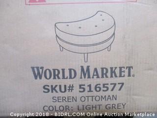 World Market Ottoman