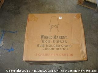 2 Wold Market Side Chairs