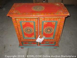 Decorative Cabinet - Damaged