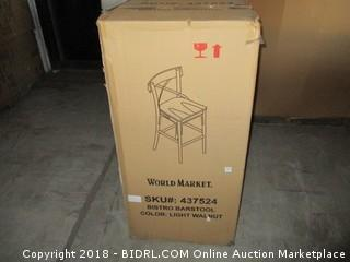 World Market Barstool - Damaged