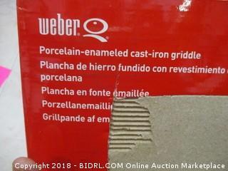 Weber Cast Iron Griddle