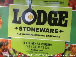 Lodge Stoneware Baking Dish