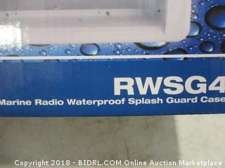 Marine Radio Waterproof Splash Guard Case
