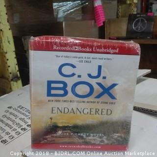 C.J. Box  Endangered Recorded Books Unabridged