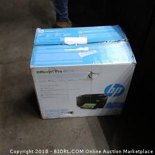 HP Office Pro Printer Powers On