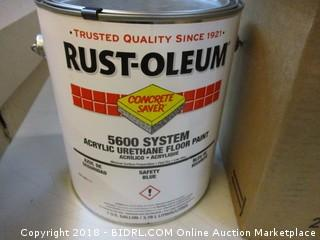 Rustoleum Acylic Urethane Floor Paint