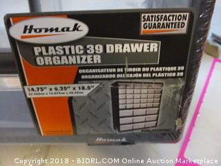 Plastic 39 Drawer Orgnizer