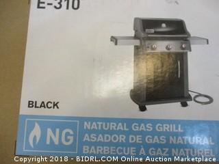 Weber 47510001 Spirit E310 Natural Gas Grill, Black (Retail $489.00)