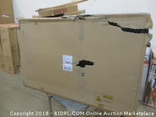 AmazonBasics Single Door & Double Door Folding Metal Dog Crate with Paw Protector (Retail $69.00)