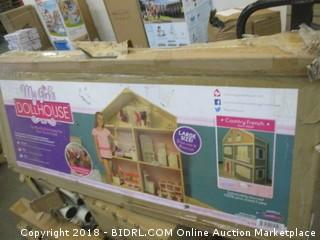 My Girl's Dollhouse for 18'' Dolls - Country French Style (Retail $295.00)