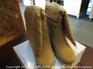 Soda Boots Size 6