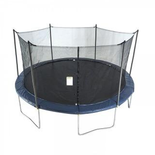 ActivPlay Round Trampoline with Safety Enclosure and Spring Pad (Retail $319.00)